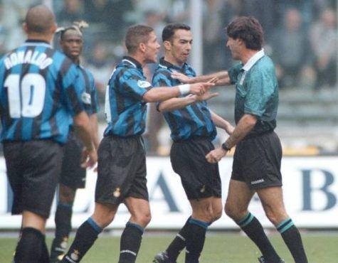L'arbitro Ceccarini