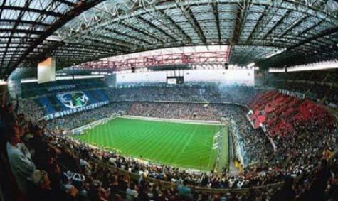 Lo stadio 'Meazza'