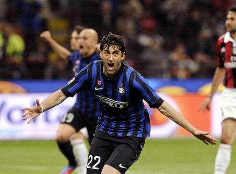 Milito ai tempi dell'Inter ©Getty Images