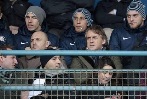 Roberto Mancini e Piero Ausilio / Getty Images