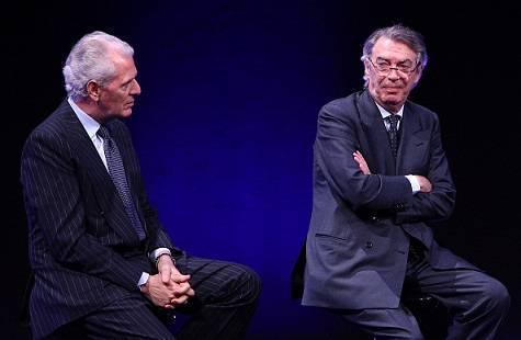 Massimo Moratti con Tronchetti Provera