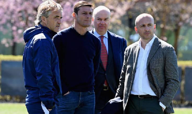 Mancini, Zanetti, Fassone e Ausilio