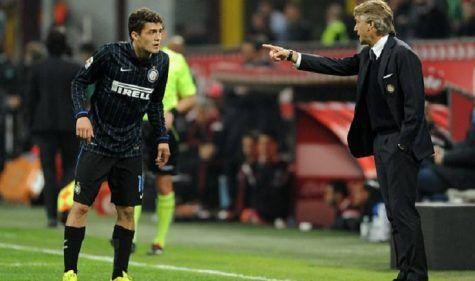 Mateo Kovacic e Roberto Mancini