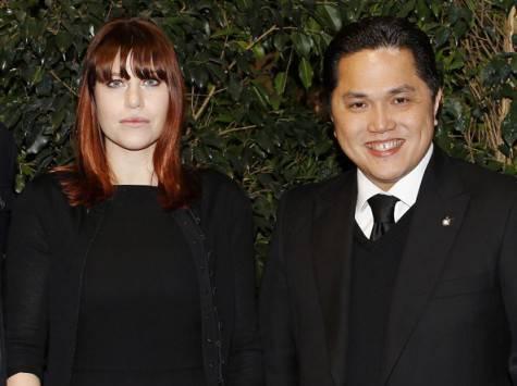 Thohir e Barbara Berlusconi