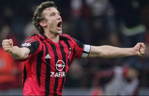 Andriy Shevchenko ai tempi del Milan