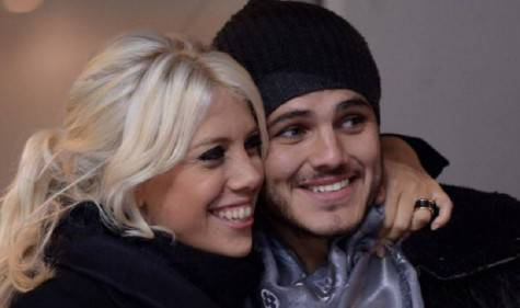 Inter, Icardi e Wanda Nara ©Getty Images