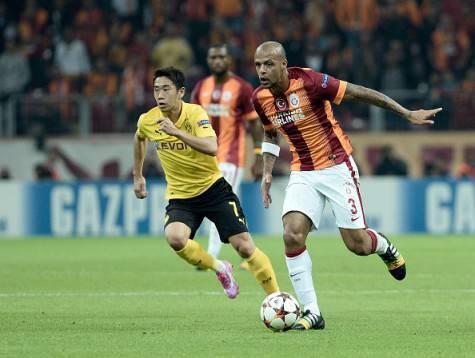 Felipe Melo in azione