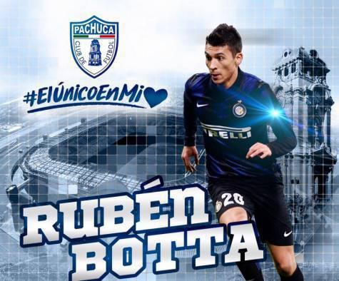 Rubén Botta (Facebook Pachuca)