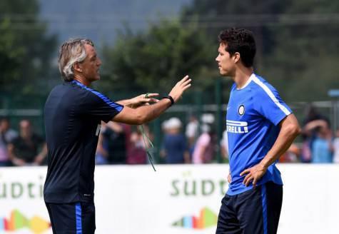 Mancini ed Hernanes a Riscone di Brunico (inter.it)
