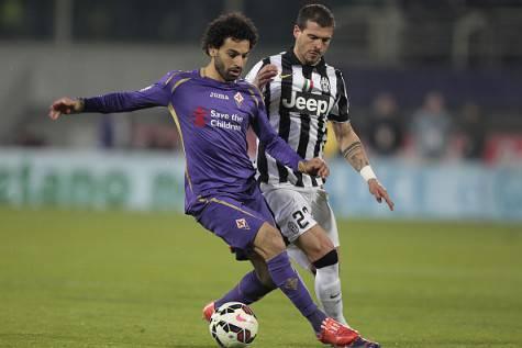 Mohamed Salah in azione