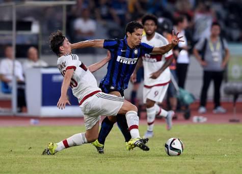 Hernanes in Milan-Inter 1-0