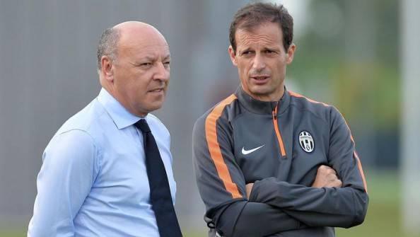 Beppe Marotta e Massimiliano Allegri