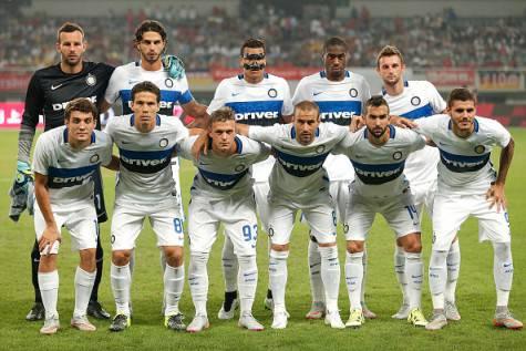 Formazione dell'Inter