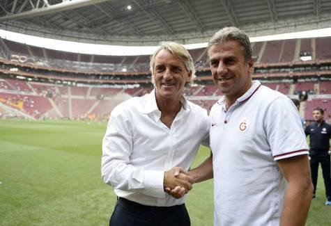 Hamzaoglu e Mancini prima di Galatasaray-Inter