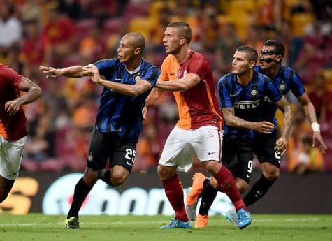 Lukas Podolski in Galatasaray-Inter 1-0