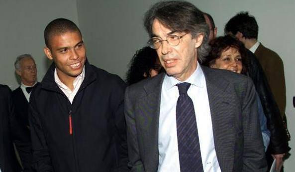 Moratti e Ronaldo / Getty Images