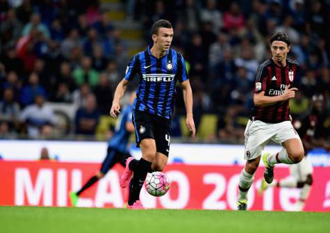 Ivan Perisic nel derby (Inter.it)