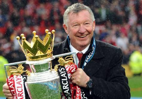 Alex Ferguson ai tempi del Manchester United