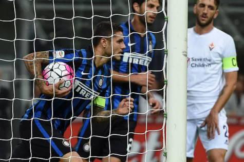 Mauro Icardi in Inter-Fiorentina 1-4