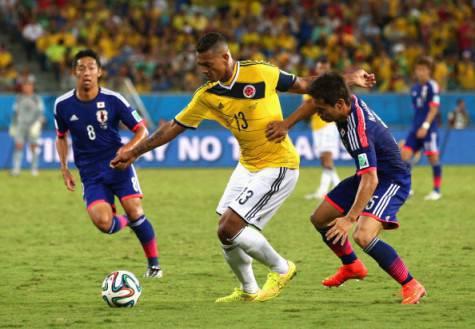 Fredy Guarin con la Colombia