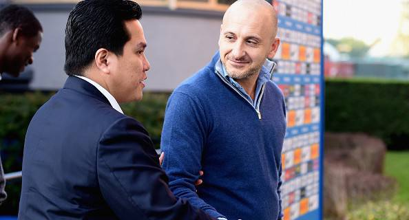 Inter, Erick Thohir e Piero Ausilio (Getty Images)