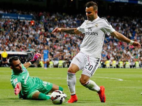 Jesé Rodriguez in azione col Real Madrid