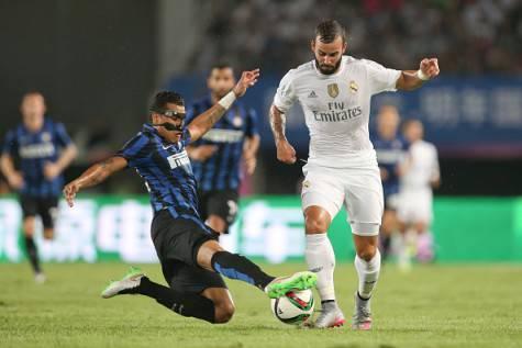 Jesé Rodriguez in azione contro l'Inter