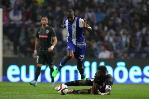 Giannelli Imbula in azione con la maglia del Porto
