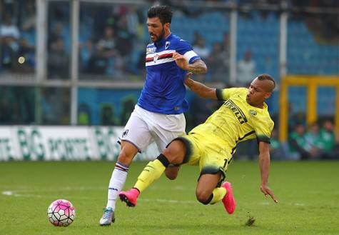 Roberto Soriano contro Biabiany in Sampdoria-Inter ©Getty Images