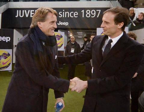 Mancini e Allegri (Getty Images)