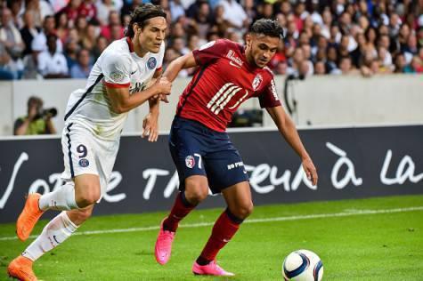 Sofiane Boufal in azione con la maglia del Lille ©Getty Images