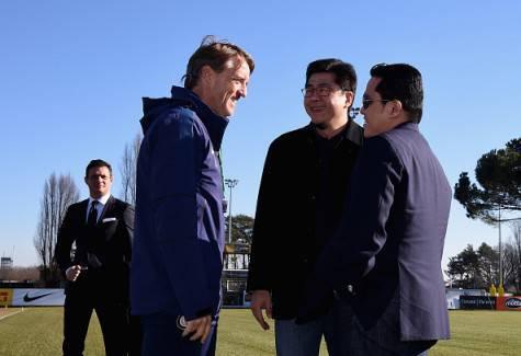 Erick Thohir, Roberto Mancini e Handy Soetedjo