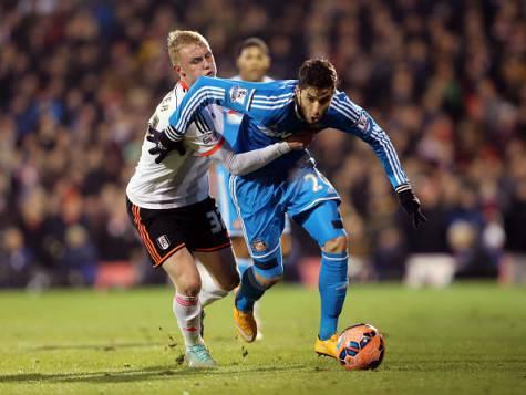 Alvarez con la maglia del Sunderland