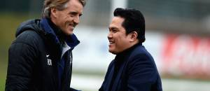 Erick Thohir e Roberto Mancini ©Getty Images