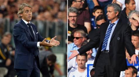 Mancini e Mourinho