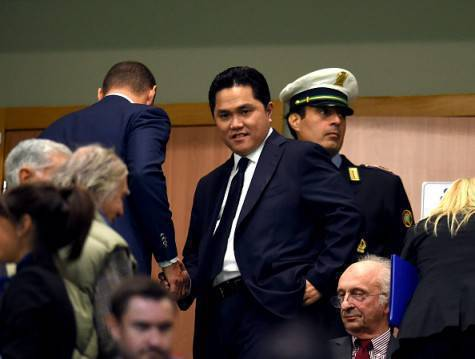 Erick Thohir a San Siro (Getty Images)