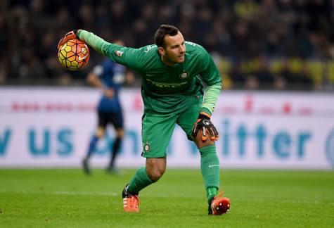 Inter-Empoli 2-1, Samir Handanovic (Getty Images)