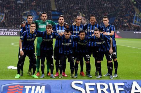 La formazione dell'Inter