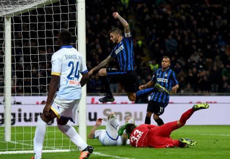 Inter-Frosinone 2-0, Icardi sigla il raddoppio su assist di Ljajic