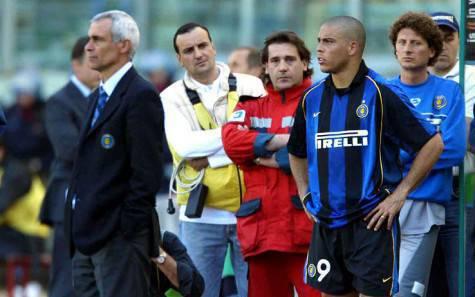 Cuper e Ronaldo ai tempi dell'Inter