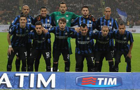 La squadra dell'Inter ©Getty Images