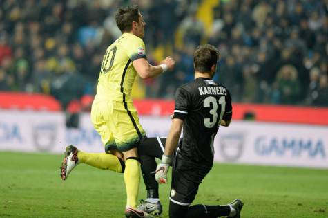 Jovetic beffa Karnezis (Inter.it)