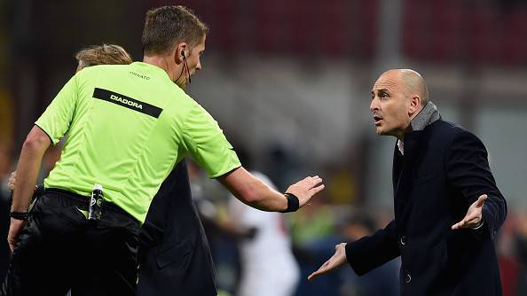 Piero Ausilio e l'arbitro Orsato ©Getty Images