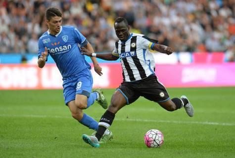 Emmanuel Badu in azione