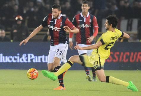 Andrea Ranocchia durante l'ultimo Bologna-Inter ©Getty Images