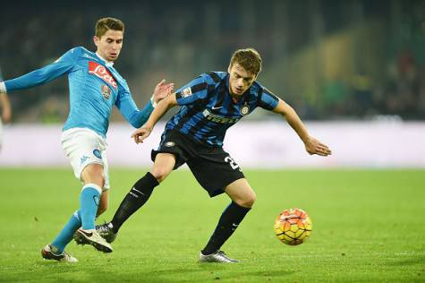 Adem Ljajic in Napoli-Inter
