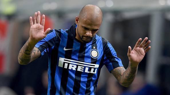 Inter-Lazio 1-2, Felipe Melo chiede scusa ai tifosi dopo l'espulsione (Getty Images)
