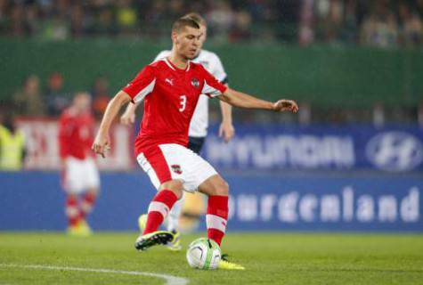 Dragovic con la maglia dell'Austria (Getty Images)