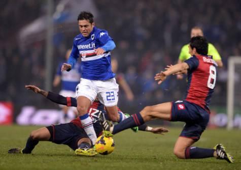 Eder in azione con la maglia della Sampdoria ©Getty Images