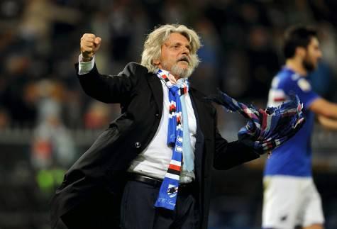 Massimo Ferrero, presidente della Sampdoria ©Getty Images